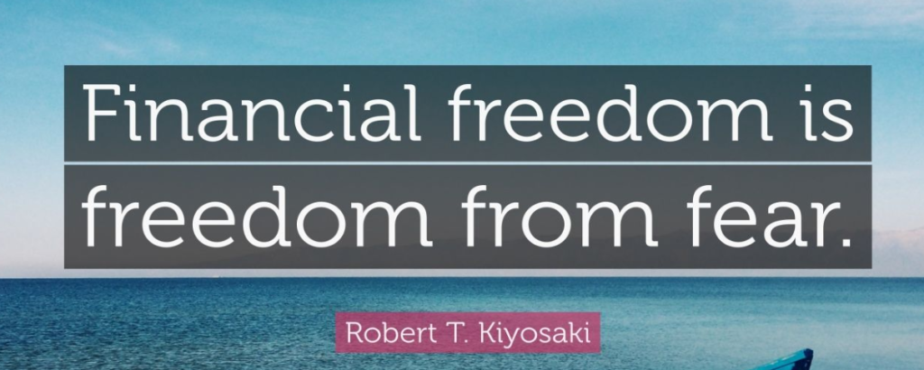 the way to financial freedom